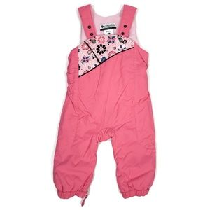 Columbia Baby 18M Pink Ski Suit Fleece Lined